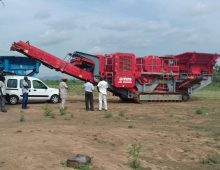 Tafauti Infrastructure Nigeria Limited – Quarry site and crushers