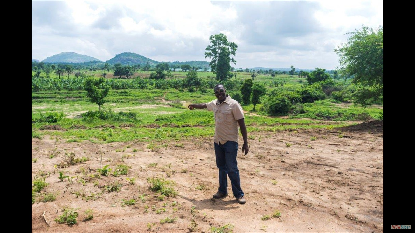 Manpan will eventually build a Guest House overlooking a river and Valley. Manpan has 20 acres of land to develop here