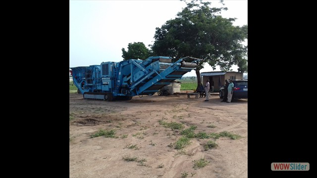 350 TPH Mobile Impact (Secondary) Crusher