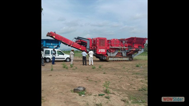 350 TPH Mobile Primary (Jaw) Crusher