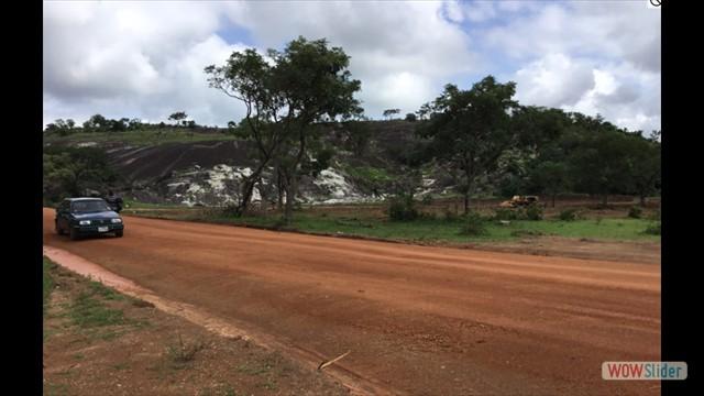 Quarry Site under construction