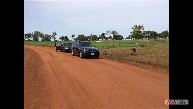 1.5 km Road to the Quarry Site - constructed